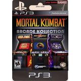 Mortal Kombat Arcade Kollection Ps3 // Playbahia // Mejor $