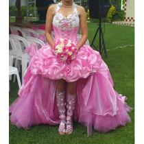 Vestido Xv Diseñadora Viann