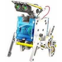 Robot Educativo De Energía Solar Owi 14 En 1 Transformable