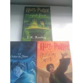 Coleção 3 Livros Harry Potter