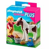 Vehiculo Con Remolque Y Caballo - Playmobil