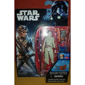 Star Wars- Rey ( Jakku) - Disney Hasbro- 3.75