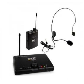 Micrófono Inalámbrico Vincha Skp Pro Uhf Mini-v