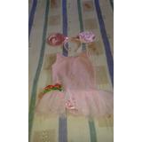 Disfraz De Angelina Ballerina Talla 6