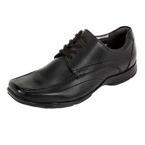 Zapatos Escolares Para Niño Flexi Color Negro Modelo 93509