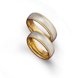 Anillos Matrimonio Acero Cód. 452 ¡ El Par !
