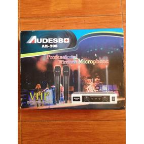 Micrófonos Profesionales Audesbo Ak-206