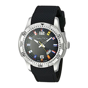 Nautica Hombre Nad G Ncs 16 Bandera Analog Display Reloj Ja
