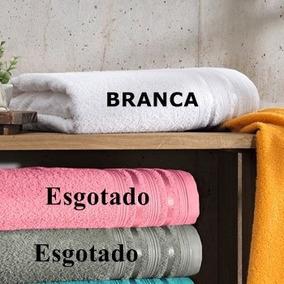 Kit 4 Toalhas De Banho Prata Dante 100%algodão Santista