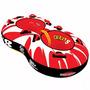 Boia Crazy 8 2p Banana Boat Inflável Rebocável Jet Lancha
