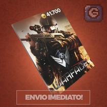 Cartão De 41.700 Cash De Warface - Envio Imediato / Level Up