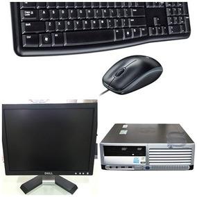 Computador Completo P4 2gb Hd 80gb + Monitor Dell 15