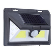 Foco Solar 52led Alta Luminosidad Sensor Movimient Ampolleta