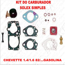 Kit Reparo Carburador Chevette 1.4/1.6 Gasolin Solex Simples
