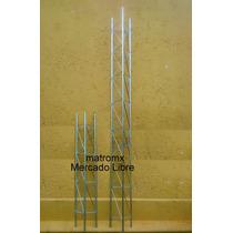 Torre Para Antena Mod Tz30 Galvanizada, Tramo De 1.5m X 30cm