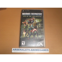 Psp Marvel Nemesis Rise Of The Imperfects (solo Marvel Neme)