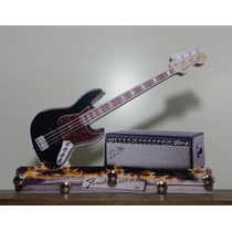 Fender - Jazz Bass - Bassman - Porta Chaves Artesanal