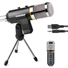 Microfono Condensador Profesional Usb 3.5 Mm Skype Youtuber