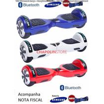 Bluetooth 6.5 Polegadas Hoverboard Com Led E Mochila Grátis