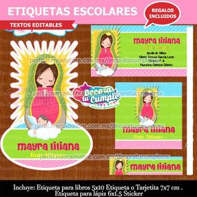 e9afb1ce81a Virgen De Guadalupe Casulla Y Otros - Kits Imprimibles en Mercado ...