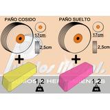 4 Pastas + 4 Paños Pulir Cuchillos / Metales Envio Gratis