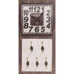 099eb35672a Gancho De Parede Vintage Retrô - Relógios no Mercado Livre Brasil