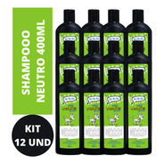 Shampoo Pet Cão E Gato 400ml Kit Com 12 Un. Oh! My Dog