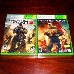 Lote 2 Vj Gears Of War 3 Y Gears Of War Judgment Xbox 360