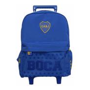 Mochila Boca Juniors Carro Carrito Varios Modelos 16'' Licen