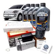 Kit Revisão Completo Original Volkswagen Filtros Up 1.0 Mpi