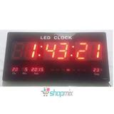 Led Clock Original Relógio Digital Parede Frete Grátis