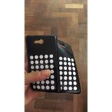Kit 3 Capa Tpu + Película Plást Celular Nokia Lumia 820 N820