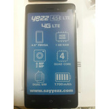 Telefono Celular Yezz Andy 4.5 Lte Android Smartphone Tactil