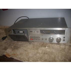 Tape Deck /toca Fita /cassete Antigo Polivox //f/ Revisao