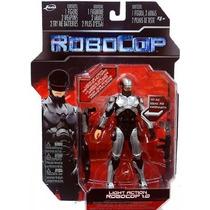 Robocop 1.0 Traje Plateado Con Luz Articulado Jada Toys