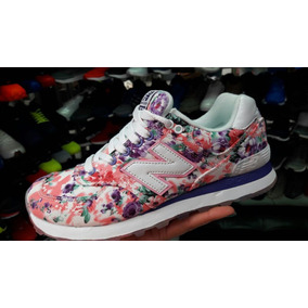 new balance mujer con flores
