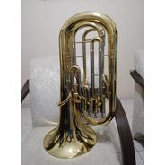 Bombardino Eufonio Janhke Sib Novo 4 Pistos  -tuba Trombone