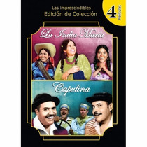 Dvd Combo 4 Peliculas Capulina Y La India Maria Ok Mister