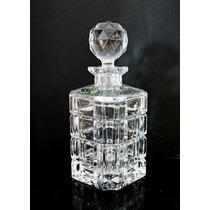 Garrafa 710ml Para Whisky Cristal Tcheco Bohemia Impecavel