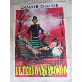 Charles Chaplin Cartaz Original Italiano Cinema