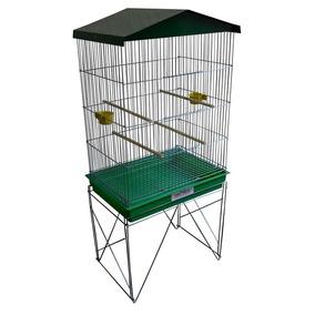 Viveiro Gaiola Grande Pássaros Canários Agapornis Periquito