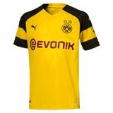 Nova Camisa Borussia Dortmund 2018 / 2019 Amarela E Preta
