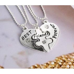 Bonito Collar Corazón Regalo Amor Amistad Amigos Por Siempre