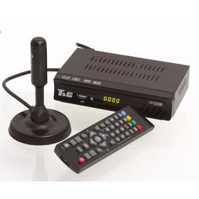 Kit Conversor Digital Tv Usb + Antena Hd Interna Uhf Full Hd