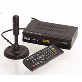 Kit Conversor Digital Tv Usb + Antena Hd Interna Uhf Full Hd
