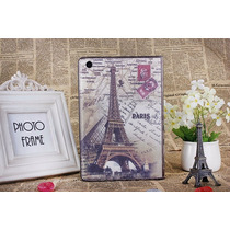 Funda Postales Paris Ipad Apple Mini 4 Case Mini4