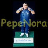 ¬¬ Z1 Diego Maradona Entrenador Figura Altura 17 Cms