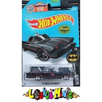 Hot Wheels Batman Tv Series Batmobile T-hunt Borracha Lacrad