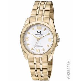 Relógio Ana Hickmann Feminino Dourado (ms) - Ah28553h