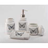 Set De Baño Butterfly